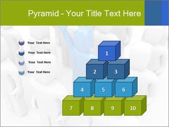 Blue Leading Man Modèles des présentations  PowerPoint - Diapositives 31