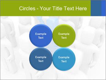 Blue Leading Man Modèles des présentations  PowerPoint - Diapositives 38