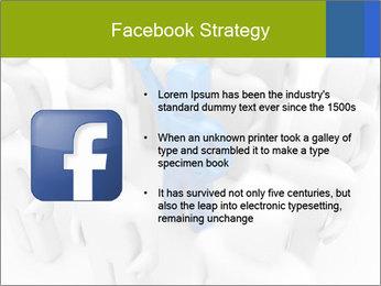 Blue Leading Man Modèles des présentations  PowerPoint - Diapositives 6