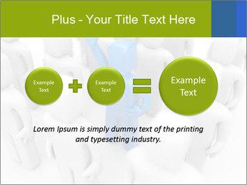 Blue Leading Man Modèles des présentations  PowerPoint - Diapositives 75