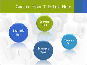 Blue Leading Man Modèles des présentations  PowerPoint - Diapositives 77