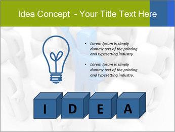 Blue Leading Man Modèles des présentations  PowerPoint - Diapositives 80