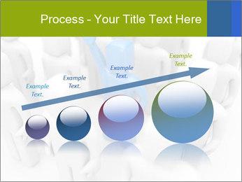 Blue Leading Man Modèles des présentations  PowerPoint - Diapositives 87