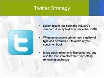 Blue Leading Man Modèles des présentations  PowerPoint - Diapositives 9