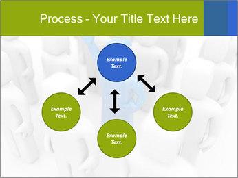 Blue Leading Man Modèles des présentations  PowerPoint - Diapositives 91