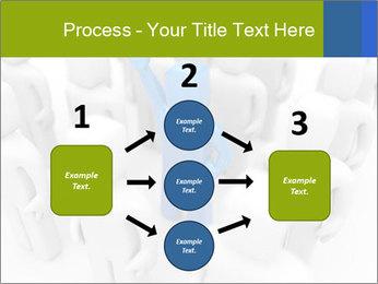 Blue Leading Man Modèles des présentations  PowerPoint - Diapositives 92