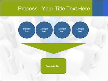 Blue Leading Man Modèles des présentations  PowerPoint - Diapositives 93