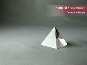 Simple Ttriangle Plantillas de Presentaciones PowerPoint