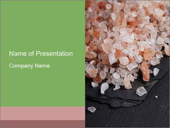 Pink Himalayan Salt PowerPoint Template