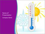 Thermometer PowerPoint presentationsmallar