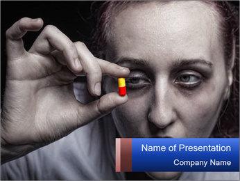 Painkiller Pill PowerPoint Template