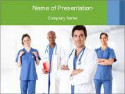 Health Care Team PowerPoint Templates