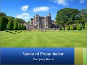 Green Backyard PowerPoint Templates