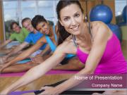 Health Club for Women PowerPoint Templates