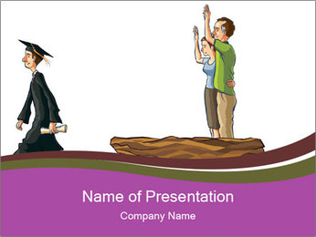 Graduated Son PowerPoint Template