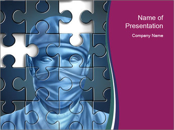 Surgeon Puzzle PowerPoint Template