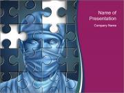 Surgeon Puzzle PowerPoint Templates