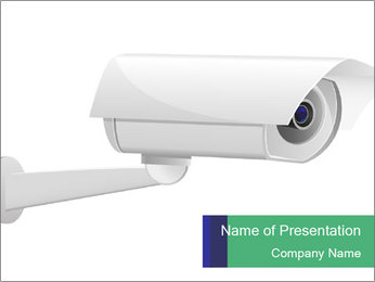 White Camera PowerPoint Template