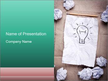 Brainstorming Creative Ideas PowerPoint Template