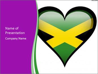 Creative Heart Design PowerPoint Template