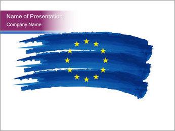 Creative EU Symbol PowerPoint Template