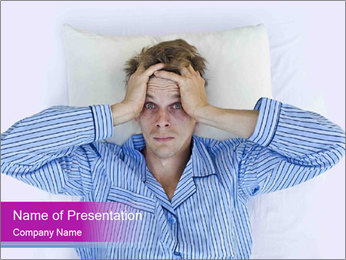 Man's Nightmare PowerPoint Template