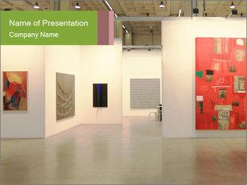 Modern Art Exhibition PowerPoint Template