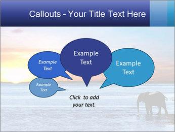 Elephant In Sri Lanka Modèles des présentations  PowerPoint - Diapositives 73