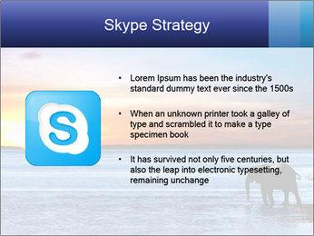 Elephant In Sri Lanka Modèles des présentations  PowerPoint - Diapositives 8