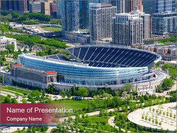 Modern Stadium PowerPoint Template
