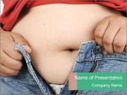 Obesity powerpoint template smiletemplates childrens obesity problem powerpoint template toneelgroepblik Choice Image