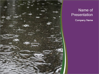Rainy Season PowerPoint Template