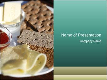 Light Swedish Breakfast PowerPoint Template