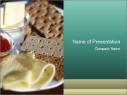 Light Swedish Breakfast PowerPoint Templates