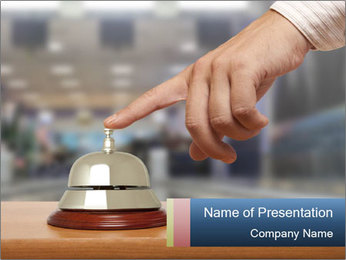 Hotel Ring PowerPoint Template