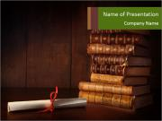Old Library PowerPoint Templates