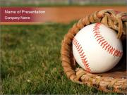 Baseball Competition PowerPoint Templates