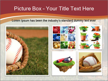 Baseball Competition PowerPoint Templates - Slide 19
