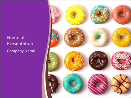 donuts for dessert plantillas de presentaciones powerpoint
