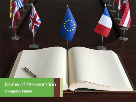 Eu diplomacy powerpoint template backgrounds id 0000031934 eu diplomacy powerpoint template toneelgroepblik Image collections