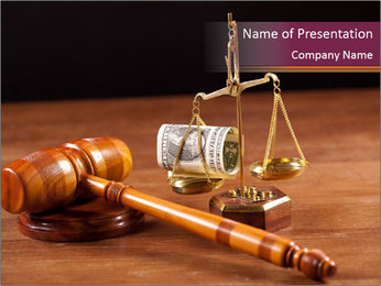 Legal Proceeding PowerPoint Template