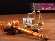 Legal Proceeding PowerPoint Templates