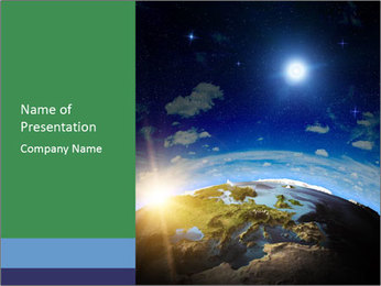 Planet System PowerPoint Template