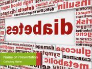 Diabetes Disease PowerPoint Templates