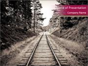 Old Railroad PowerPoint Templates
