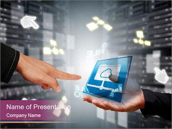 Smart Computer Technology PowerPoint Template
