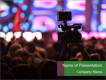 Concert Evening PowerPoint Template