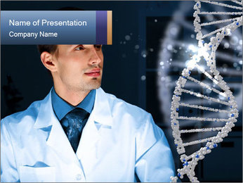 Microbiologist PowerPoint Template