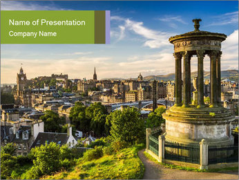 Scottish Culture PowerPoint Template