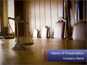 Jury Verdict PowerPoint Template